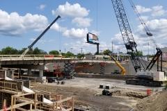 Chene Street Bridge Construction Photos