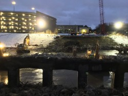 Second Ave Bridge Demolition, Jan 17-10, 2020