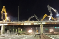 Brush St. Bridge Demolition Photos, April 12-14, 2019