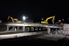 French Road Bridge Demolition Photos, March 29-31, 2019