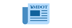 Graphic of MDOT News Releases