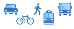Graphic of Transportation Terms